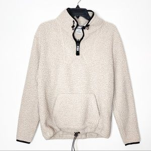 Victoria's Secret Pink Sherpa Pullover Sweater